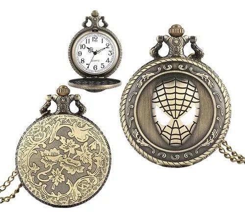 Relógio de bolso steampunk corrente antigo hom