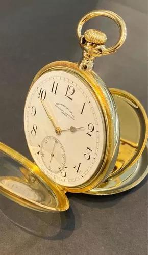 Relógio vacheron e constatin genéve de bolso ouro 18k