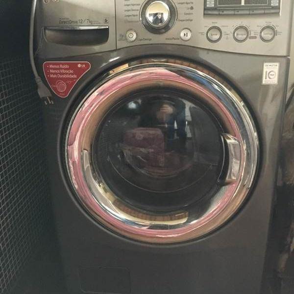 Lava e seca 12kg (quente e frio)