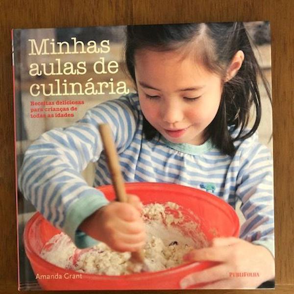 """Livro """"minhas aulas de culinária"""""""