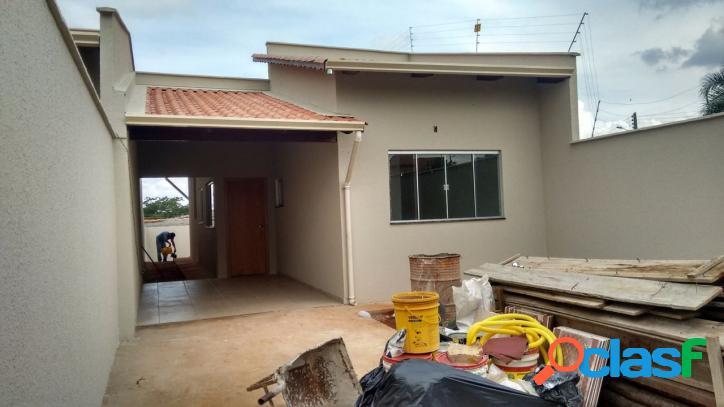 Casa nova 2/4 c/ suíte setor jd. buriti sereno