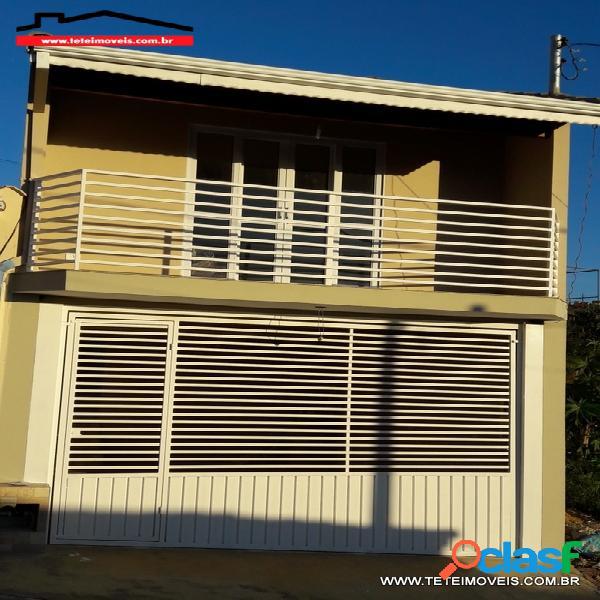 Casa nova com 03 dormitórios sendo 01 suite em pinhalzinho