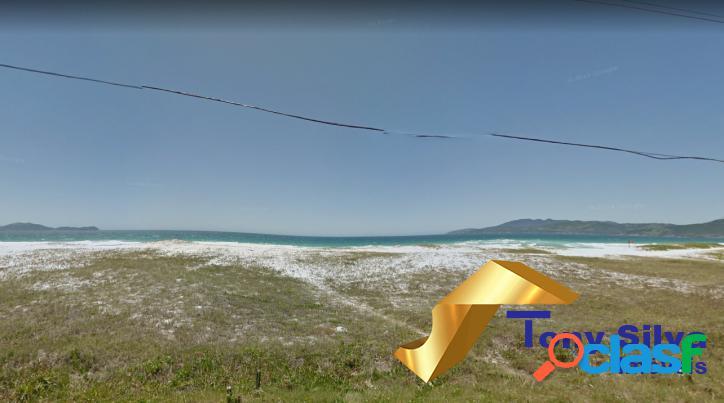 Terrenos a poucos metros da praia no foguete - cabo frio