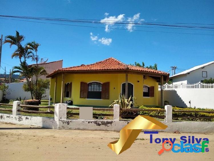 Linda casa linear independente 3 quartos na praia linda são pedro da aldeia