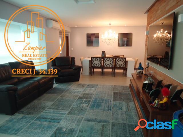 Apartamento alto padrão 3 dormitórios - gonzaga - santos