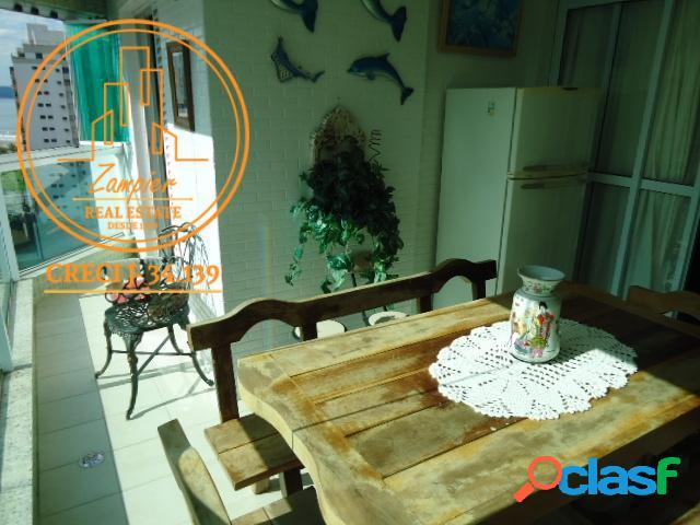 Apartamento alto padrão c/ 3 suítes - boa vista/são vicente