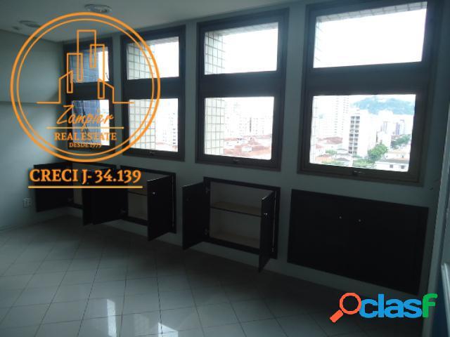 Sala Comercial 53m² - Vila Mathias - Santos 3