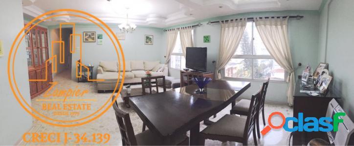Apartamento 3 dormitórios - centro - são vicente