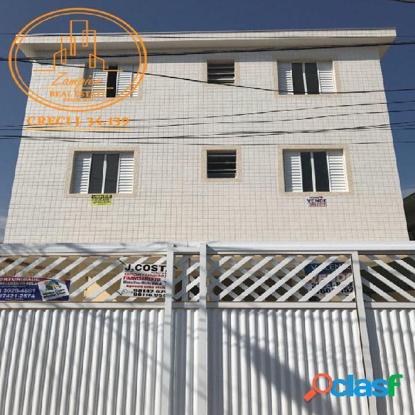 Apartamento 2 dormitórios - vila margarida - são vicente