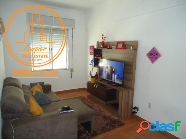 Apartamento de 1 dormitório josé menino - santos