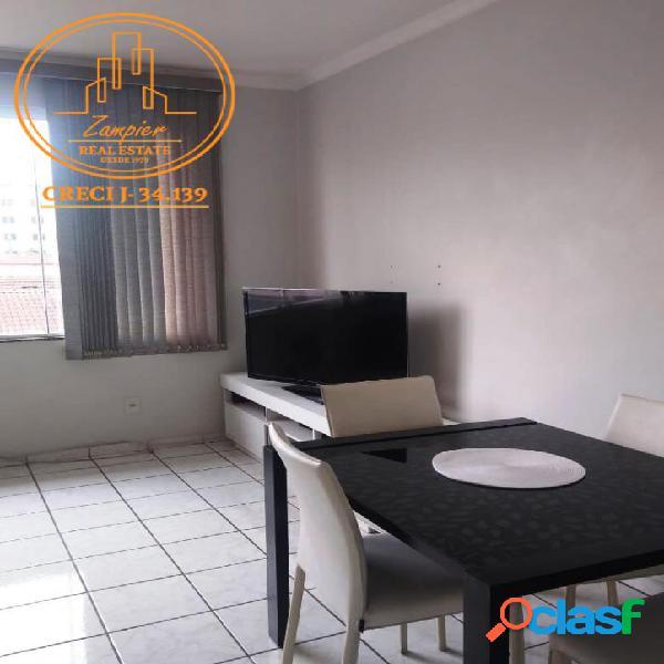 Apartamento 2 dormitórios na vila mathias - santos.