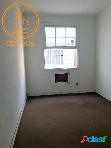 Apartamento 2 dormitórios, campo grande - santos