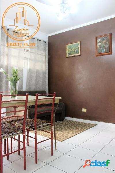 Apartamento 2 dormitórios no josé menino - santos