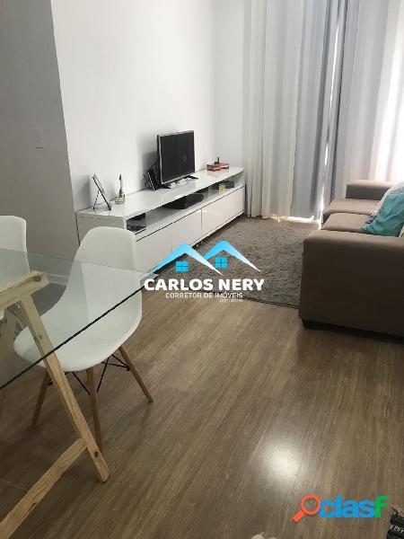 Lindo Apartamento todo Mobiliado com Quintal Gramado