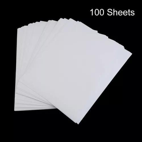 100 pcs a4 sublimação papel impressão poliéster algodão