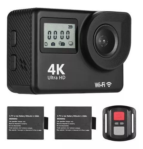 4k ultra hd wifi esportes camera de a??o 18mp 170 ° grande