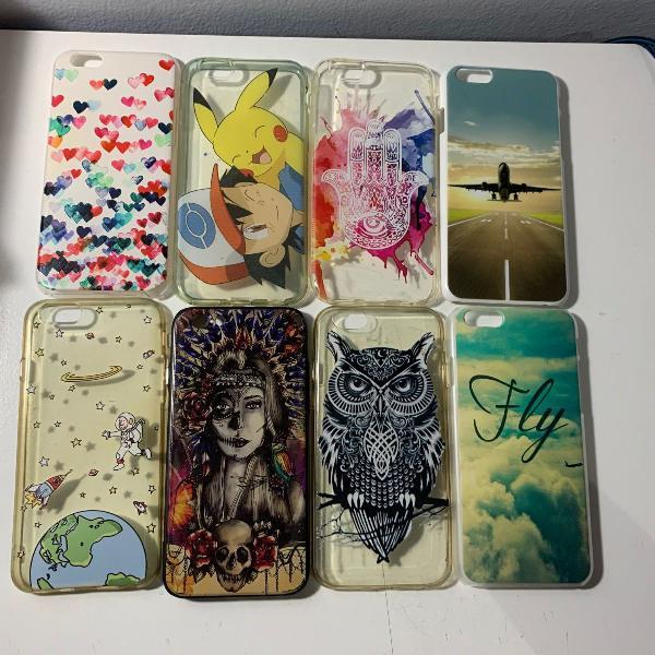 8 capas de iphone 6/6s