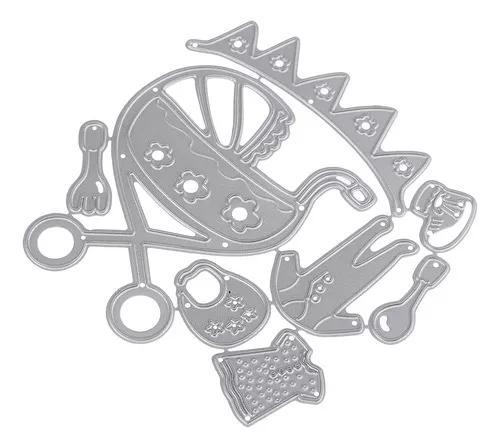 Acessórios do bebê corte de metal dies corte modelos de