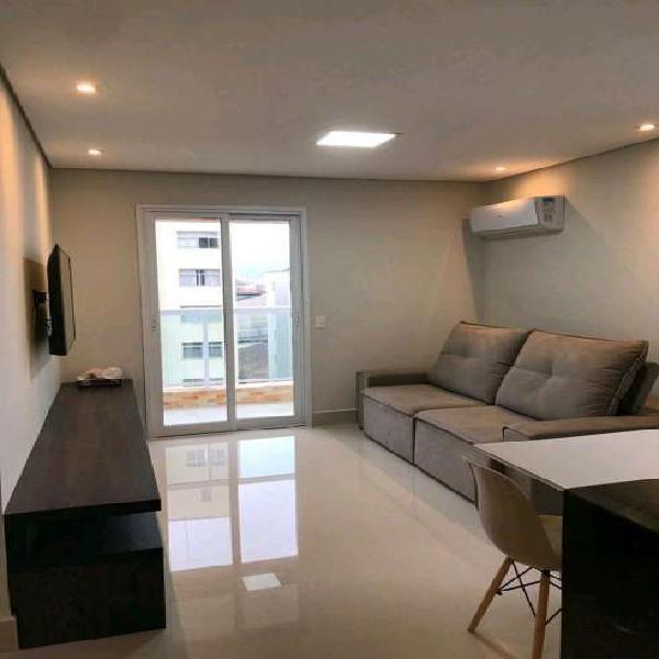 Apartamento 2 suítes, mobiliado 71m2 vista mar - ponta da