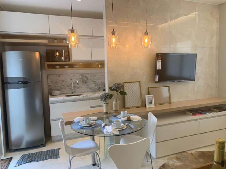 Apartamento para venda com 38 m² com 2 dorms, 1 vaga em
