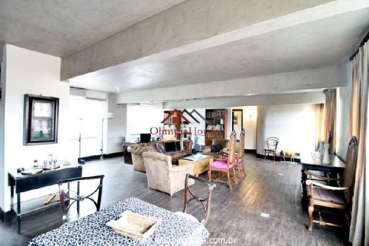 Apartamento para venda e locação com 140m² - moema, são