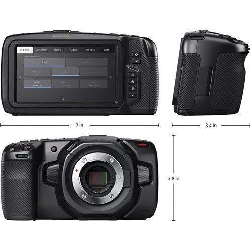 Blackmagic pocket camera 4k - pronta entrega c/ nfe