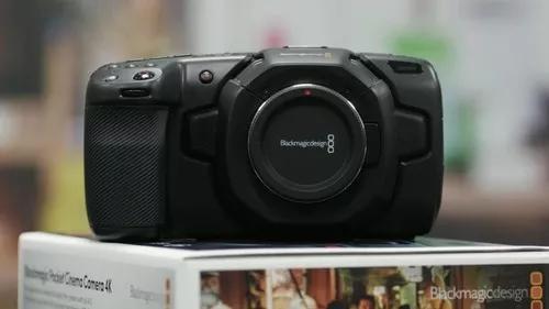 Blackmagic pocket camera 4k - pronta entrega - com nf