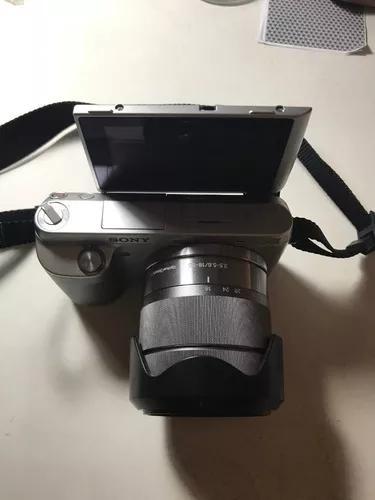 Camêra sony nex f3 + lente 18-55mm sony