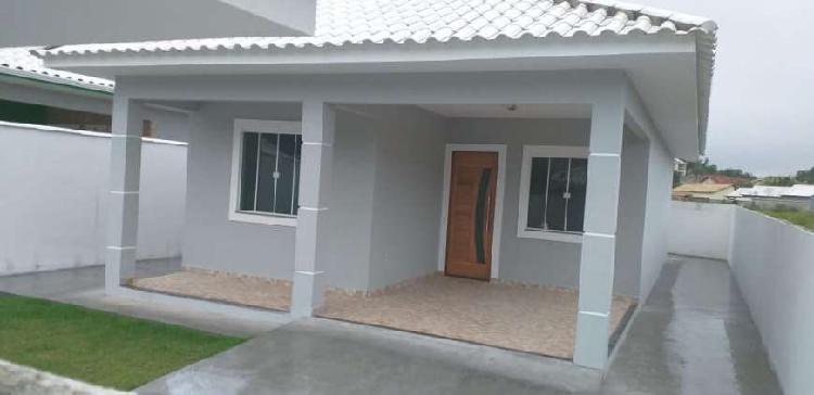 Casa nova em porto da roça