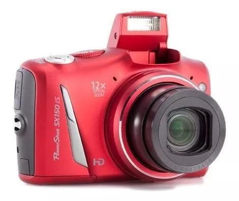 Câmera barata canon power shot sx150 is grátis cartão 8gb