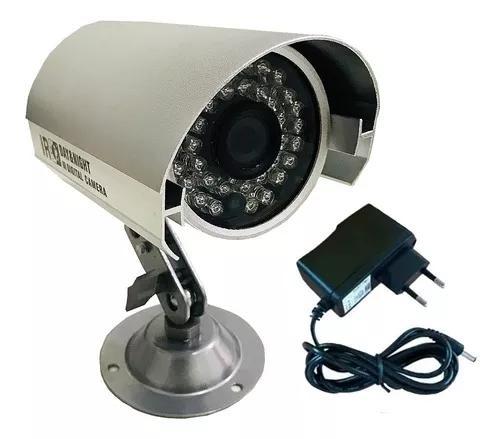 Câmera ccd 800 linhas analógica com infravermelho