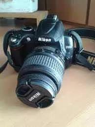 Câmera d5000 nikon