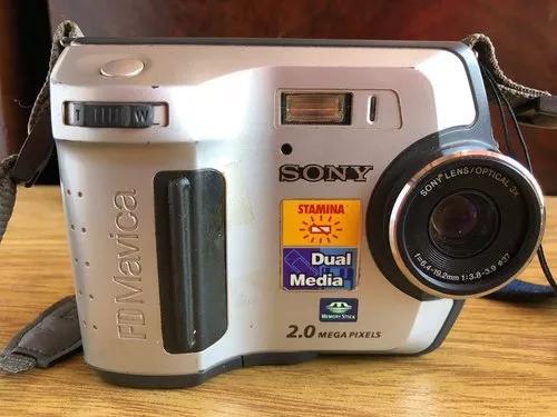 Câmera digital mavica sony mvc-fd200