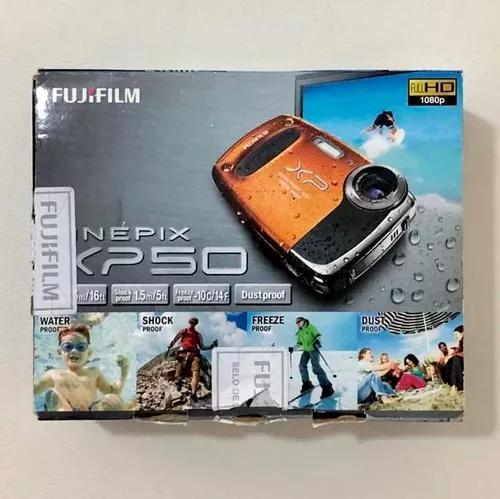 Câmera digital à prova dágua fujifilm finepix xp50