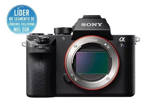 Câmera digital sony alpha 7sii (corpo) full frame 12.2