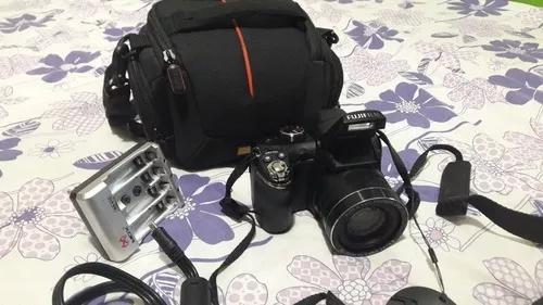 Câmera fotográfica fujifilm finepix s 14mp 30x zoom