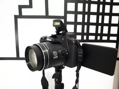 Câmera fotográfica nikon coolpix p600 zoom 60x