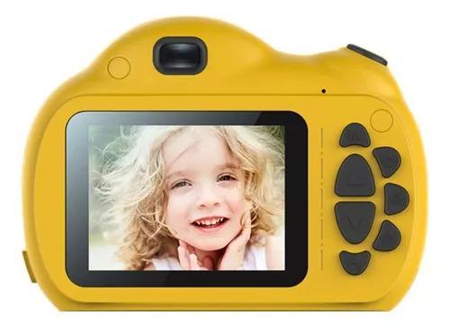 Câmera infantil de tela grande modo de foco inteligente