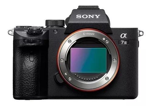 Câmera sony alpha a7 ill mirrorless vídeo 4k corpo