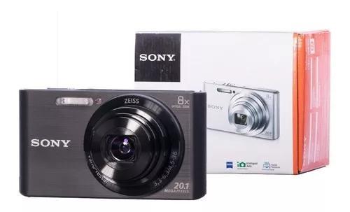 Câmera sony cyber-shot dsc w830 zoom 8x 20.1mp