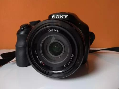 Câmera sony hx300 câmara com zoom ótico de 50x