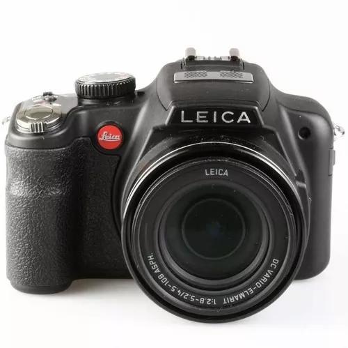 Câmera superzoom leica v-lux 2 zoom ótico 24x