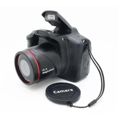 Filmadora profissional 3in full hd 16x zoom 12mp portátil