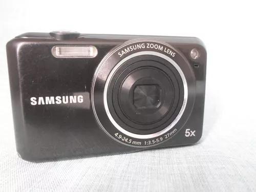 Máquina câmera digital samsung es68 es 68 preta - usada