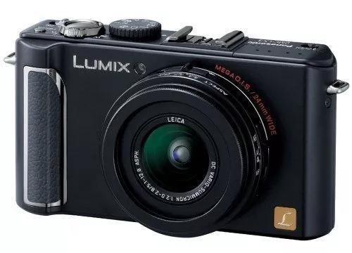 Panasonic lumix dmc-lx3 com duas baterias novas