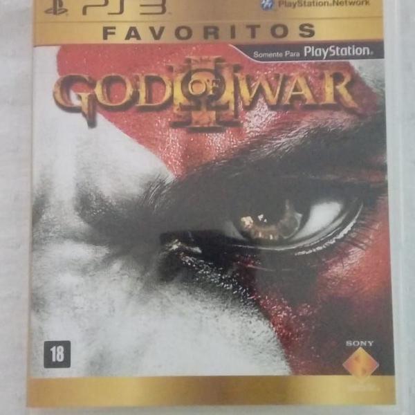 Games jogos ps3 usados god of war 3 (leia descrição)