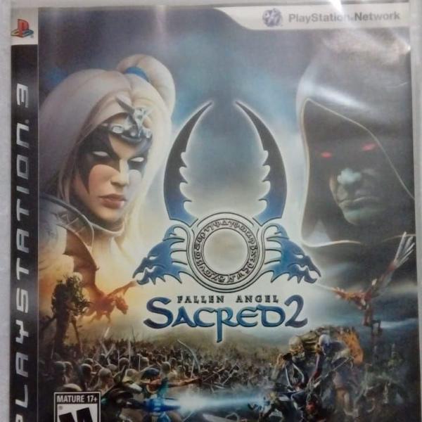Games jogos ps3 usados sacred 2 (leia a descrição)