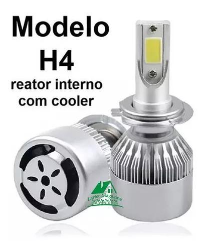 1 par lampada led automotiva h1/h3/h4/h7/h11/hb3/hb4 xenon