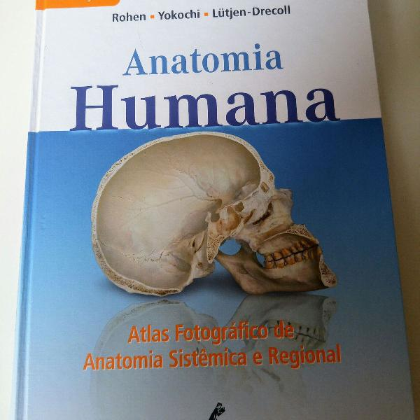 Anatomia humana - atlas fotográfico de anatomia sistêmica