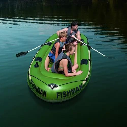 Barco fishman verde 400kg com r